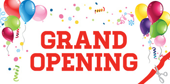 Grand Opening Today!!!