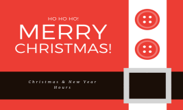 Christmas and New Year Hours
